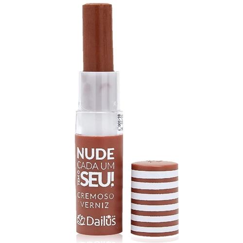 Batom Cremoso Nude Cada um Tem o Seu Dailus   Mais Vaidosa